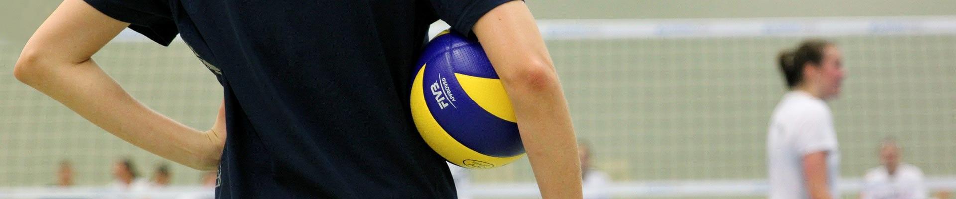 Volleyballen in de Maaspoort